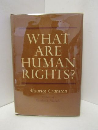 WHAT ARE HUMAN RIGHTS?;. Maurice Cranston