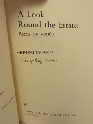 LOOK (A) ROUND THE ESTATE; Poems 1957-1967