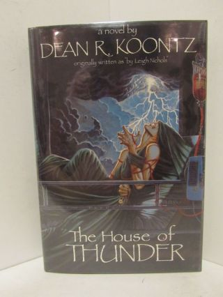 HOUSE (THE) OF THUNDER;. Dean R. Koontz