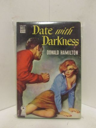 DATE WITH DARKNESS;. Donald Hamilton