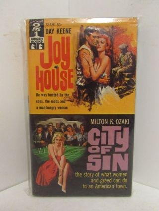 JOY HOUSE / CITY OF SIN;. Day Keene, Milton K. Ozaki