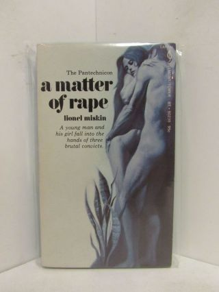 PANTECHNICON (THE); A Matter of Rape. Lionel Miskin