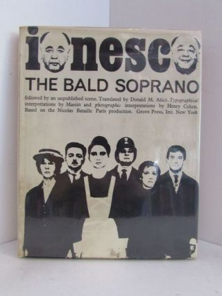 BALD (THE) SOPRANO;. Eugene Ionesco