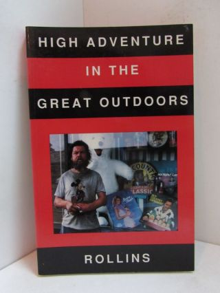 HIGH ADVENTURE IN THE GREAT OUTDOORS;. Rollins.