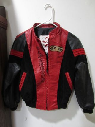 "MICHAEL JACKSON ""DANGEROUS"" TOUR JACKETS"