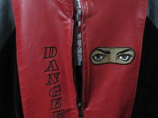"MICHAEL JACKSON ""DANGEROUS"" TOUR JACKETS;"
