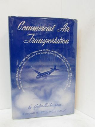 COMMERCIAL AIR TRANSPORTATION;. John H. Frederick