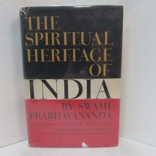 SPIRITUAL HERITAGE OF INDIA (THE);. Swami Prabhavananda.