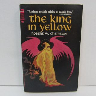 KING IN YELLOW (THE);. Robert W. Chambers