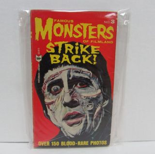 FAMOUS MONSTERS OF FILMLAND STRIKE BACK!;. Forrest J. Ackerman