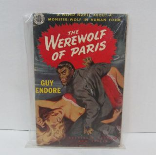 WEREWOLF OF PARIS (THE);. Guy Endore