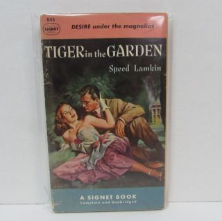TIGER IN THE GARDEN;. Speed Lamkin