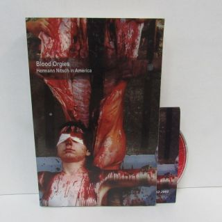 BLOOD ORGIES: HERMANN NITSCH IN AMERICA