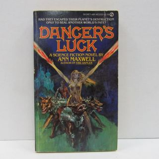 DANGER'S LUCK;. Ann Maxwell