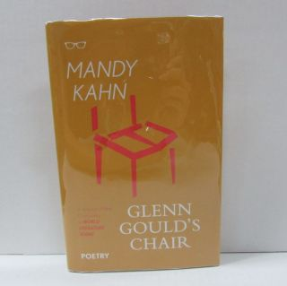 GLENN GOULD'S CHAIR;. Mandy Kahn