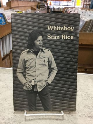 Whiteboy;. Stan Rice
